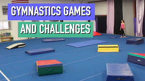 10 fun gymnastics games and challenges youtube