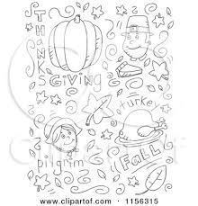 clipart of a black and white doodle background of
