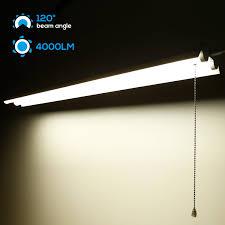 linkable led shop lights leonlite 4ft linkable led shop light 2 tube t8 led suit for