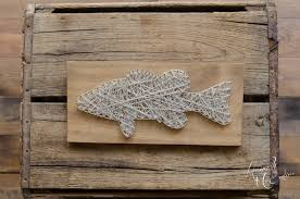 fish art string art fishing gifts gifts for him zoom