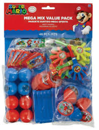 mario party supplies pack of 48 mario party favours mixed loot bag fillers