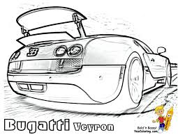 car with spoiler coloring page coloring home