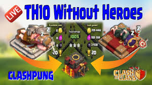 farming strategy dragon attack th10 without heroes clash of