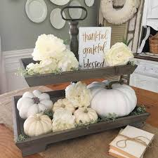 fall serving platters rustic wooden two tier farmhouse or cottage serving tray