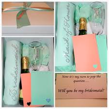 will you be my of honor gift wedding ideas diy bridesmaid gift boxes moh gift boxes will you