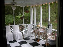 Painted Porch Floor Ideas by Screened Porch Design Ocd