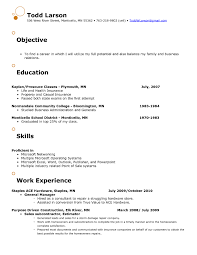 Resume For Retail Job by Retail Job Objective For Resume Free Resume Example And Writing