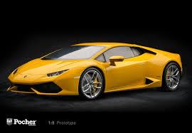 Lamborghini Huracan Models - pocher lamborghini huracan lp 610 4 giallo midas pearl effect