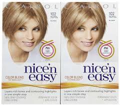 clairol nice u0027n easy hair color natural light ash blonde 102 2