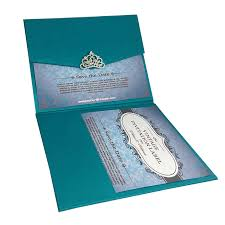 wedding invitation pocket light teal color luxury silk pocket fold design for wedding