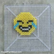 emoji perler bead keychains perler beads kid and craft kids