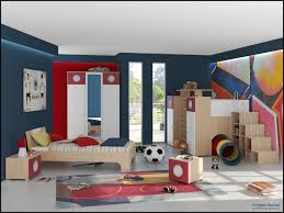 bedroom modern boys kids room with cherry wood frame bunk bed in extraordinary decoration of kids bedroom design ideas captivating design with walnut frame headboard platform bed