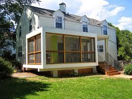 enclosed back porch designs ideas back porch designs