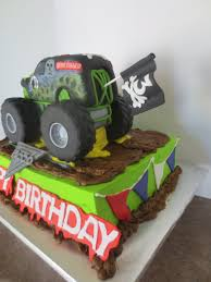 grave digger monster truck birthday party supplies gravedigger monster truck cake byrdie custom cakes