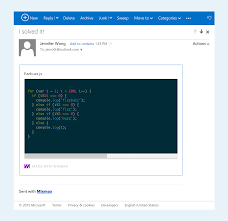 write perfect readable code in gmail mixmax