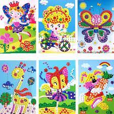 aliexpress com buy 3d eva foam cartoon car mosaics art stickers