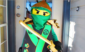 Lego Halloween Costume Lego Ninjago Halloween Costume Inhabitots Green Halloween Contest