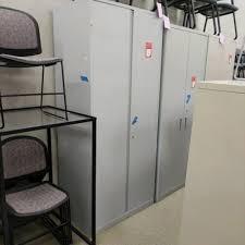 steelcase storage cabinet 5 shelf extra tall wt key light