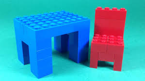 Legos Table How To Build Lego Table And Chair Furniture 4628 Lego Fun