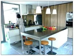 plan de travail en inox pour cuisine plan de travail inox pro cuisines ensemble cuisine socialfuzz me