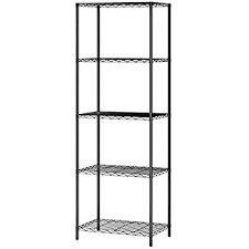 Amazon Com Langria Living Storage by Amazon Com Langria 5 Tier Commercial Wire Metal Shelving Rack For