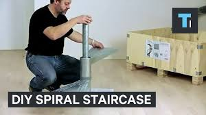 this diy spiral staircase comes in a box youtube