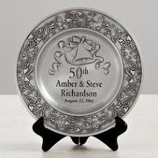 Personalized Anniversary Clock Engraved 50th Anniversary Beveled Glass Clock 7044 Anniversary