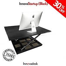 ssl xl desk dimensions amazon com adjust standing desk converter innovadesk 32 22 inches