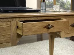 bureau chene bureau 1 2 ministre 3 tiroirs en chêne de style directoire meuble