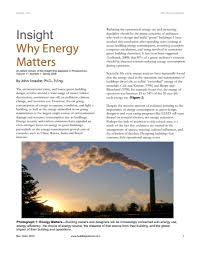 bsd 001 why energy matters building science corporation