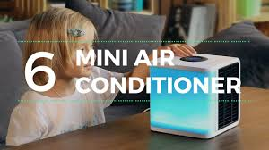 Desk Top Air Conditioner Top 6 Mini Air Conditioner And Smart Cooling Gadgets Youtube