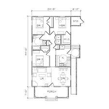 haywood i accessible bungalow floor plan tightlines designs haywood i acc floor plan