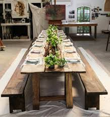 Rustic Dining Table Centerpieces by Decoration Classy Rustic Dining Room Decoration Using Small Plant