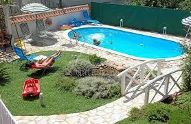 Backyard Pool Landscape Ideas Fabulous Pool Landscaping Ideas On A Budget Garden Decors