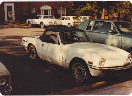 triumph spitfire circa 1970 our first