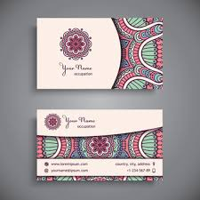 Wedding Decor Business Cards Business Card Decoration Free Vector Download 34 480 Free Vector