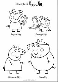 magnificent coloring page peppa pig colouring with peppa pig