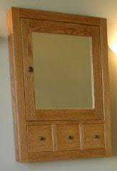 Bathroom Medicine Cabinets Recessed Shaker Style Medicine Cabinets