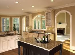 furniture rustic kitchen with white kitchen island feat cream