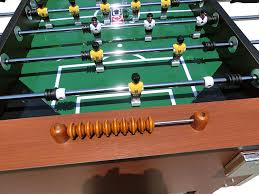 amazon com foosball table amazon com kick foosball table splendor 55 in sports outdoors