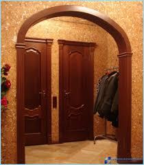 arco in pietra per interni archi di cartongesso nel corridoio foto