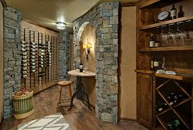 Basement Room by Unfinished Basement Space Becomes A Rustic Wine Room Startribune Com