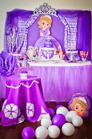 sofia the first table 16 sofia the first birthday party ideas pretty my party