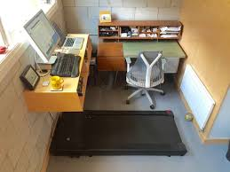 Standing Treadmill Desk by Standing Desks Are So Yesterday Try A Treadmill Desk For A Really