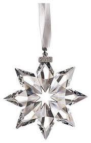 swarovski 2001 annual snowflake ornament z