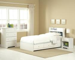 Beds With Headboard Storage Bookcase Headboard Twin Great White Twin Storage Bed With Bookcase