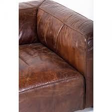 sofa 3 sitzer leder sofa cubetto 3 sitzer kare design