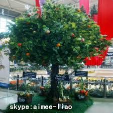 q111231artificial apple tree evergreen ornamental plants for sale