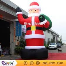 Inflatable Christmas Decorations Outdoor Cheap - gemmy prototype christmas spa santa inflatable airblown