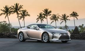 lexus lc luxury coupe 2018 lexus lc 500 first drive review autonxt